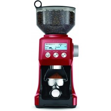 Breville BCG800CBXL Smart Grinder Coffee Machine, Cranberry Red