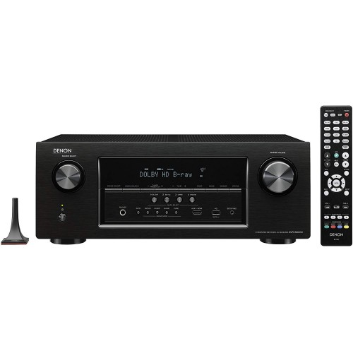 Denon AVR-S900W 7.2-Channel Network AV Receiver with Bluetooth and Wi-Fi (Discontinued by Manufacturer)