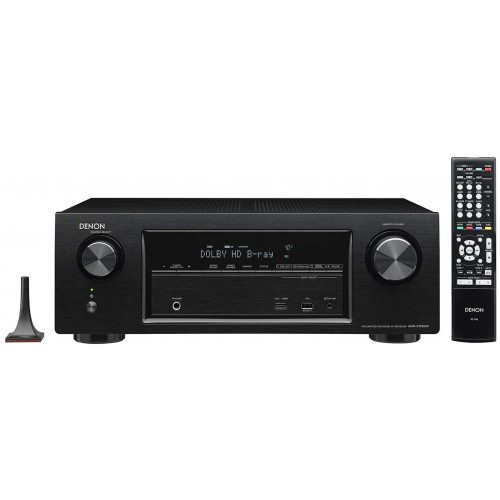 Denon AVR-X1100W 7.2 Channel Full 4K Ultra HD AV Receiver with Bluetooth and Wi-Fi (Discontinued by Manufacturer)