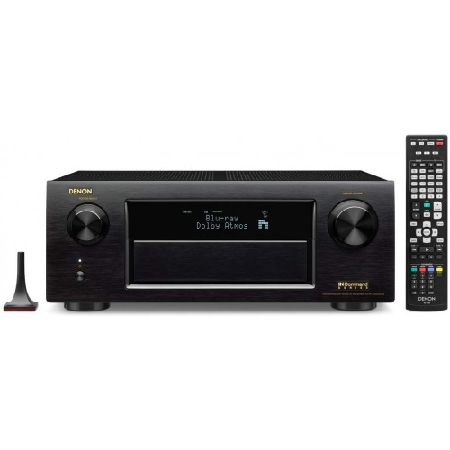 Denon AVR-X5200W 9.2 Network AV Receiver with Wi-Fi, Bluetooth and Dolby Atmos