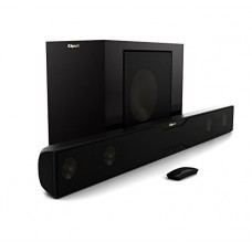Klipsch R-20B Bluetooth Soundbar with Wireless Subwoofer Satin Black