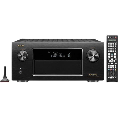 Denon AVR-X7200W Integrated Network AV Receiver (Discontinued by Manufacturer)