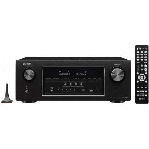 Denon AVR-S910W 7.2-Channel Full 4K Ultra HD A/V Receiver with Bluetooth and Wi-Fi (Discontinued by Manufacturer)
