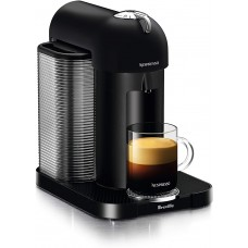 Breville-Nespresso USA BNV220BKM1BUC1 Vertuo Coffee and Espresso Machine, Matte Black