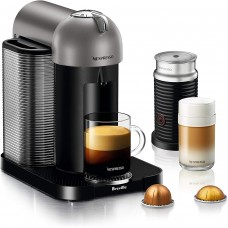 Breville BNV250TTN1BUC1 Vertuo Coffee and Espresso Machine, Titan