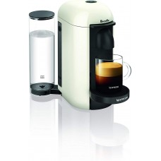 Breville BNV420WHT1BUC1 VertuoPlus Coffee and Espresso Machine, White