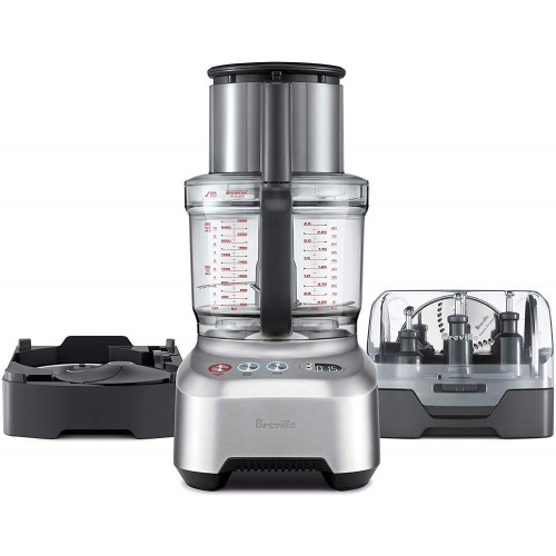 240 Volts Breville Sous Chef Peel and Dice 16 Cup Silver - a Complete Food Processor - Compatible with Indian voltage - No Need of Voltage Converter