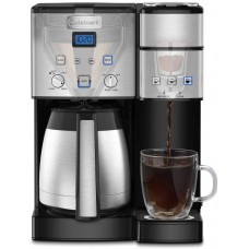 Cuisinart SS-20 Coffee Center 10-Cup Thermal Single-Serve Brewer coffeemaker  Silver