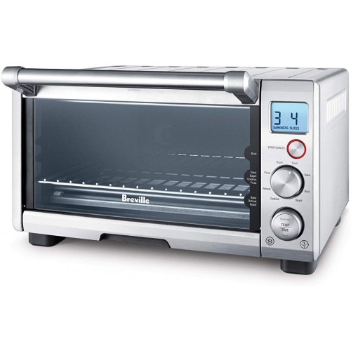 Breville The Compact Smart Oven 1800w Toaster Oven Bov650xl