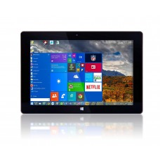 10 Fusion5 Ultra Slim Windows Tablet PC- 2GB RAM 64GB Storage Full Size USB 3.0 Intel Quad-core Dual Cameras HDMI Bluetooth Windows 10