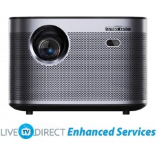 Home Cinema Projector, LiveTV.Direct Enhanced H3 Native 1080p HD 1900 ANSI Lumens Android 3D Smart TV Home Video Movie 4K Projector Built-in Harman/Kardon Hi-Fi Stereo Speaker