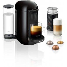 Breville-Nespresso USA BNV420IBL1BUC1 Nespresso VertuoPlus Bundle by Breville-Ink Black single-serve, capsule espresso maker