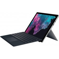 Microsoft Surface Pro with Black Keyboard 12.3 2736 x 1824 Touchscreen Intel Core m3 7Y30  4GB Memory  128GB SSD  Platinum Windows 10 Home