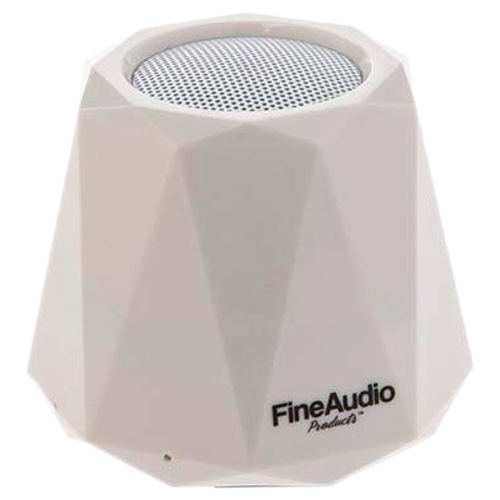 FINE AUDIO FA-S29BT Bluetooth Speaker with Microphone - White