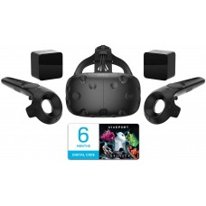 HTC Vive Virtual Reality System - Full Set with Headset  2 Controllers  2 Base Stations