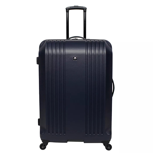Skyline 30 Hardside Spinner Check In Suitcase Luggage Trolley Bag - Blue