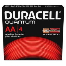 Duracell Quantum AA Alkaline Batteries - set of 4