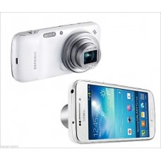 "Samsung Galaxy S4 Zoom White SM-C101 (FACTORY UNLOCKED) 8GB, 13MP , 4.3"" sAMOLED Smartphone + 2 Extra Batteries"