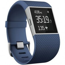 Fitbit Surge Ultimate Fitness Super Watch Large Blue