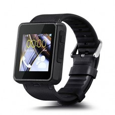 F1 Bluetooth Smart Watch Phone SIM Card/Sync Smartphone Call Touch Screen Smartwatch WristWatch with Camera Pedometer Function for Andriod Phone