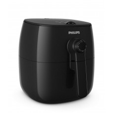 Philips TurboStar Technology Airfryer Analog Interface Black -1.8lb 2.75qt- HD9621 96