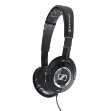 Sennheiser cerrado Back optimizado para iPod iPhone MP3 y reproductores de música de auricular Negro
