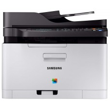 Samsung Xpress C480fw Multifunction Colour Laser Printer, Copy-fax-print-scan