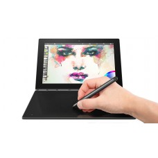"""Lenovo Yoga Book 10.1"""" FHD Touch IPS 2-in-1 Convertible Tablet PC, Intel Atom X5-Z8550 1.44GHz, 4GB RAM, 64GB SSD, Bluetooth, HD Graphics, Windows 10 Home- Carbon Black"""