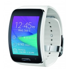 Samsung Galaxy Gear S R750 Smart Watch Curved Super AMOLED Touch Display  - White